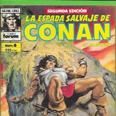 Cómics: LA ESPADA SALVAJE DE CONAN EL BARBARO NUMERO 6. Lote 190599112