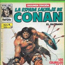 Cómics: LA ESPADA SALVAJE DE CONAN EL BARBARO NUMERO 4. Lote 190599433
