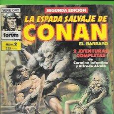 Cómics: LA ESPADA SALVAJE DE CONAN EL BARBARO NUMERO 2. Lote 190599611