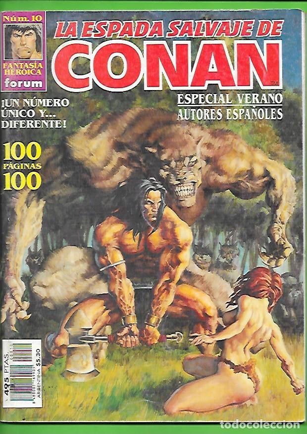 VOLUMEN 3 DE LA ESPADA SALVAJE DE CONAN EL BARBARO NUMERO 10 (Tebeos y Comics - Forum - Conan)