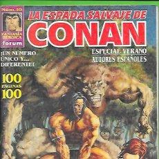 Cómics: VOLUMEN 3 DE LA ESPADA SALVAJE DE CONAN EL BARBARO NUMERO 10. Lote 190602250