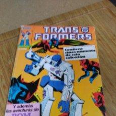Cómics: TRANSFORMERS RETAPADO CON LOS NÚMEROS 21 AL 25.. Lote 190603308