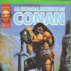 Cómics: VOLUMEN 2 DE LA ESPADA SALVAJE DE CONAN EL BARBARO COMPLETA CON SUS 10 NUMERO . Lote 190607575