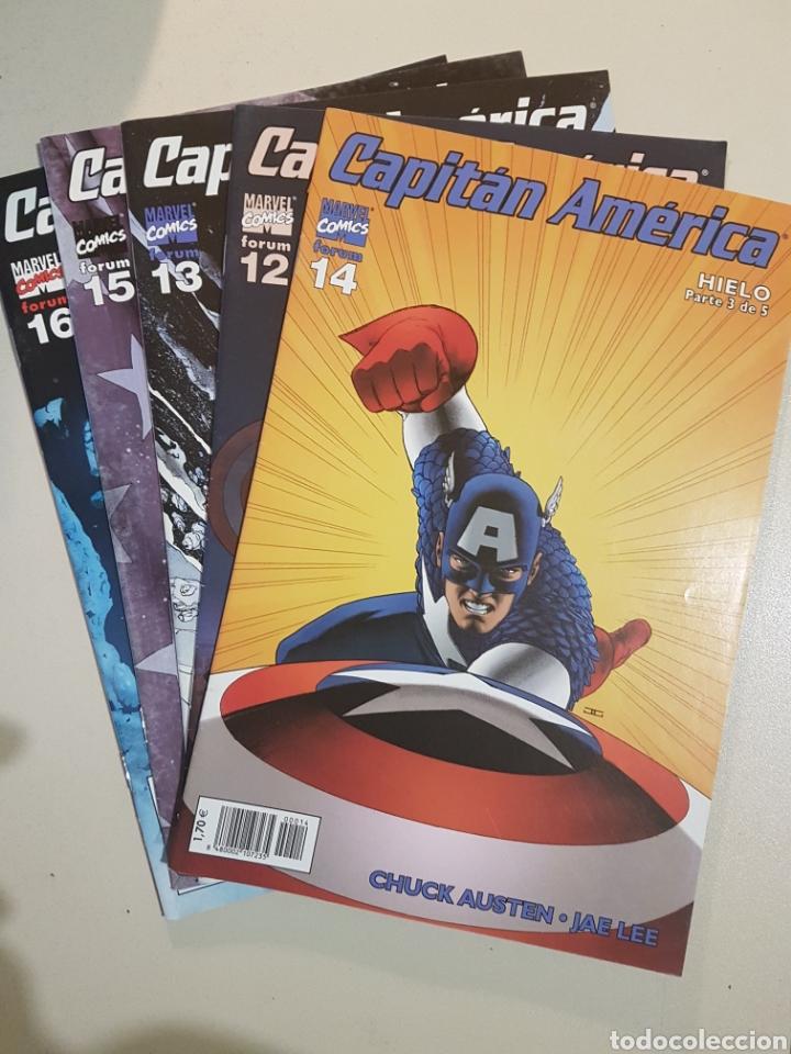 CAPITÁN AMERICA VOL 5 - HIELO PARTES 1 A 5 - 12 13 14 15 16 - FORUM - CHUCK AUSTEN - JAE LEE (Tebeos y Comics - Forum - Capitán América)