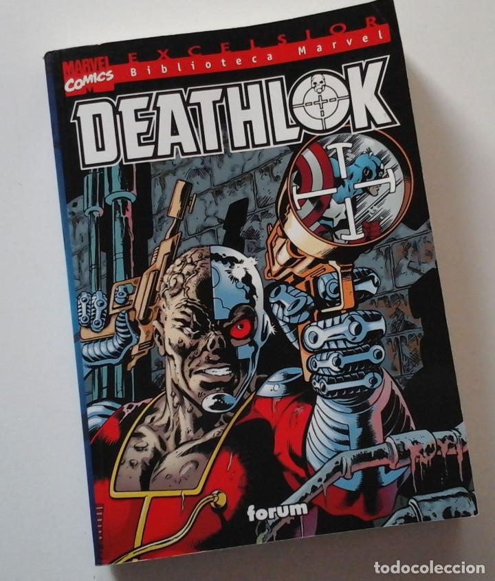 BIBLIOTECA MARVEL: DEATHLOK. VOLUMEN ÚNICO. MUY COMPLETO. (Tebeos y Comics - Forum - Otros Forum)