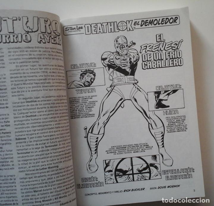 Cómics: Biblioteca Marvel: Deathlok. Volumen único. Muy completo. - Foto 2 - 190644088