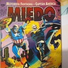 Cómics: CAPITAN AMERICA Y EL MOTORISTA FANTASMA - MIEDO. Lote 190652612