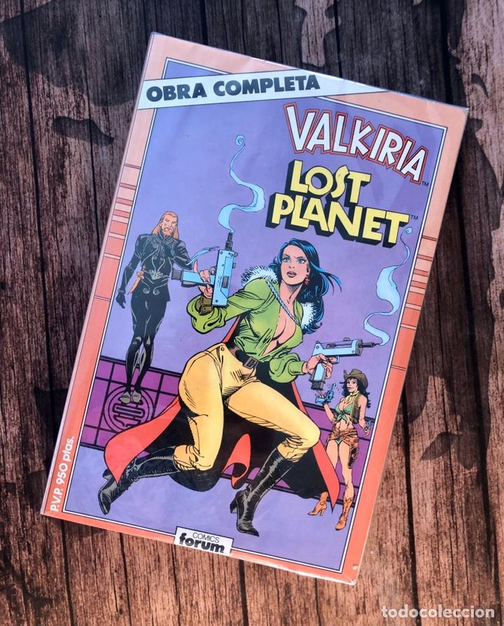 VALKIRIA, LOST PLANET. (Tebeos y Comics - Forum - Retapados)