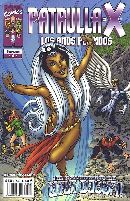 PATRULLA X LOS AÑOS PERDIDOS Nº 6 NUEVO IMPECABLE - BYRNE Y PALMER (Tebeos y Comics - Forum - Patrulla X)