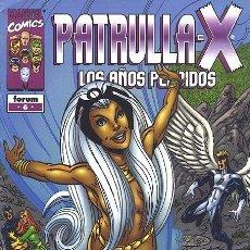 Cómics: PATRULLA X LOS AÑOS PERDIDOS Nº 6 NUEVO IMPECABLE. Lote 83488368