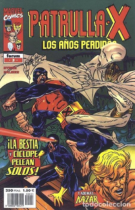 PATRULLA X LOS AÑOS PERDIDOS Nº 3 IMPECABLE - BYRNE Y PALMER (Tebeos y Comics - Forum - Patrulla X)
