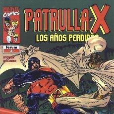 Cómics: PATRULLA X LOS AÑOS PERDIDOS Nº 3 IMPECABLE. Lote 83488992