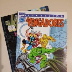 Cómics: EXCELSIOR LOS VENGADORES 1 1/2 FORUM + REGALO VENGADORES TIMESLIP. Lote 190778662