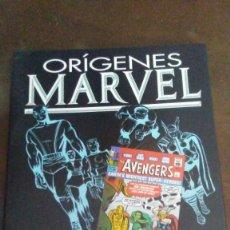 Cómics: ORIGENES MARVEL - LOS VENGADORES. Lote 190810268