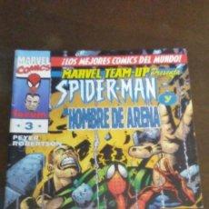 Cómics: MARVEL TEAM UP - SPIDERMAN & EL HOMBRE DE ARENA Nº3. Lote 190814490