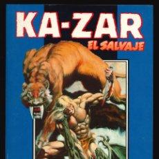 Cómics: KA-ZAR EL SALVAJE - FORUM / COLECCIÓN COMPLETA (3 NÚMEROS EN UN TOMO RETAPADO). Lote 190861810