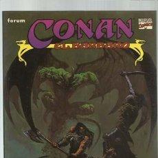 Comics: CONAN EL BÁRBARO: EL CUERNO DE AZOTH, 1996, FORUM, MUY BUEN ESTADO. Lote 191026622