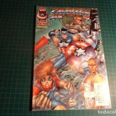 Comics : HEROES REBORN. CAPITAN AMERICA. Nº 5. FORUM. (REF-004).. Lote 191268253