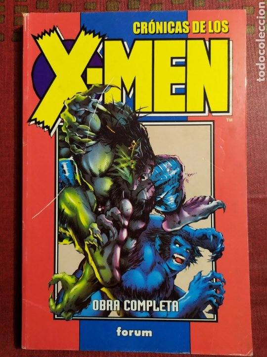 CRONICAS DE LOS X MEN OBRA COMPLETA (Tebeos y Comics - Forum - Retapados)