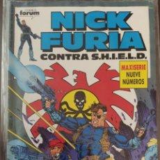 Cómics: NICK FURIA CONTRA SHIELD N 1 MAXISERIE 1 DE 9. Lote 191284336