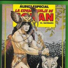 Cómics: RETAPADO ALBUM ESPECIAL LA ESPADA SALVAJE DE CONAN EL BARBARO NUMEROS 90, 91 Y 92. Lote 191295367