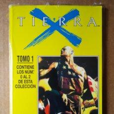 Comics : RETAPADO TIERRA X TOMO 1: NÚMEROS 0-1-2 (CÓMICS FORUM). PRECINTADO.. Lote 191449193