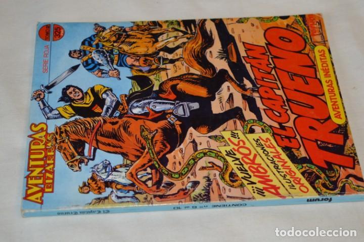 Cómics: Capitán Trueno / Aventuras Bizarras - Tomo 2 Serie Roja / Números del 06 al 10 - Buen estado ¡Mira! - Foto 2 - 191464096