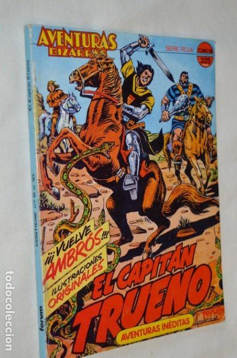 CAPITÁN TRUENO / AVENTURAS BIZARRAS - TOMO 2 SERIE ROJA / NÚMEROS DEL 06 AL 10 - BUEN ESTADO ¡MIRA! (Tebeos y Comics - Forum - Retapados)