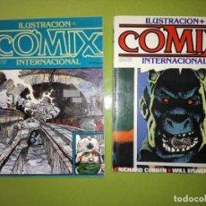 Cómics: COMIC ILUSTRACION + COMIX INTERNACIONAL. EXTRA Nº 1 Y Nº 3.. Lote 191503221