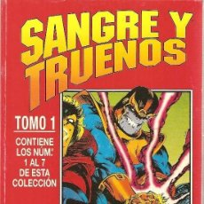 Comics : OBRA COMPLETA SANGRE Y TRUENOS. FORUM. THOR SILVER SURFER. RETAPADO FORUM.. Lote 191561890