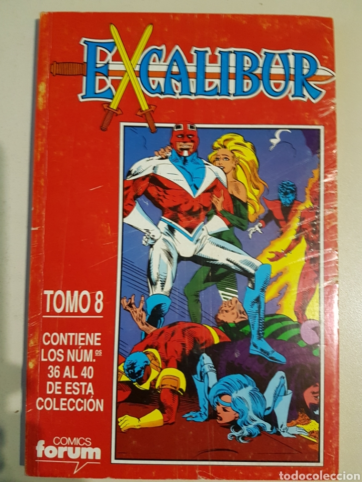 Cómics: EXCALIBUR VOL 1 RETAPADO TOMOS 6 7 8 9 - FORUM - Foto 2 - 191656716