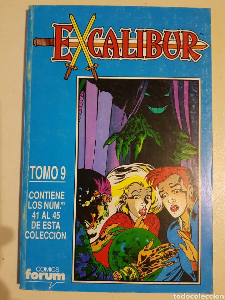 Cómics: EXCALIBUR VOL 1 RETAPADO TOMOS 6 7 8 9 - FORUM - Foto 4 - 191656716