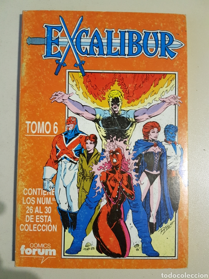 Cómics: EXCALIBUR VOL 1 RETAPADO TOMOS 6 7 8 9 - FORUM - Foto 8 - 191656716