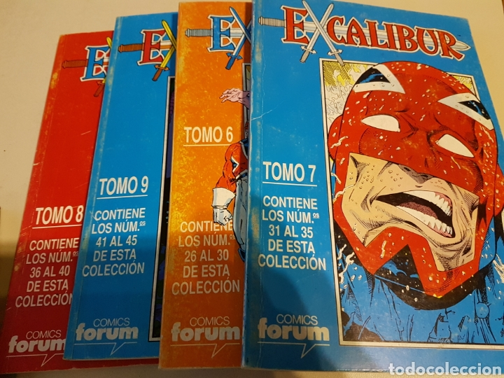EXCALIBUR VOL 1 RETAPADO TOMOS 6 7 8 9 - FORUM (Tebeos y Comics - Forum - Retapados)
