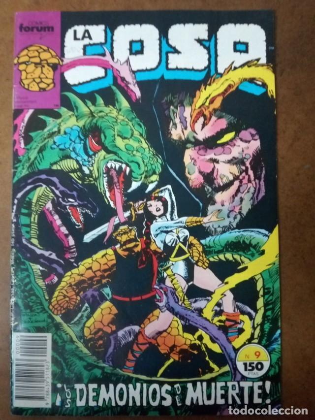 LA COSA Nº 9 PROCEDE DE RETAPADO - FORUM - OFM15 (Tebeos y Comics - Forum - Retapados)