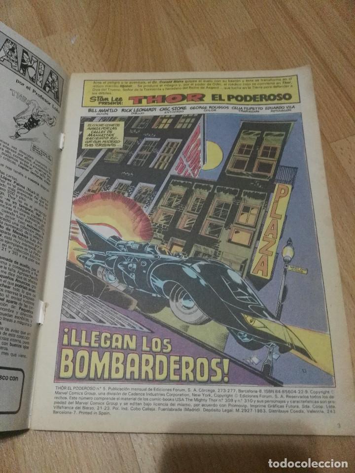 Cómics: Retapado 1-5 Thor Forum 1ª serie - Foto 8 - 191824263