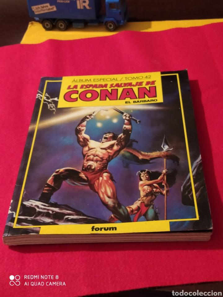 CONAN ÁLBUM ESPECIAL TOMO 42 LA ESPADA SALVAJE DE CONAN EL BÁRBARO (Tebeos y Comics - Forum - Conan)