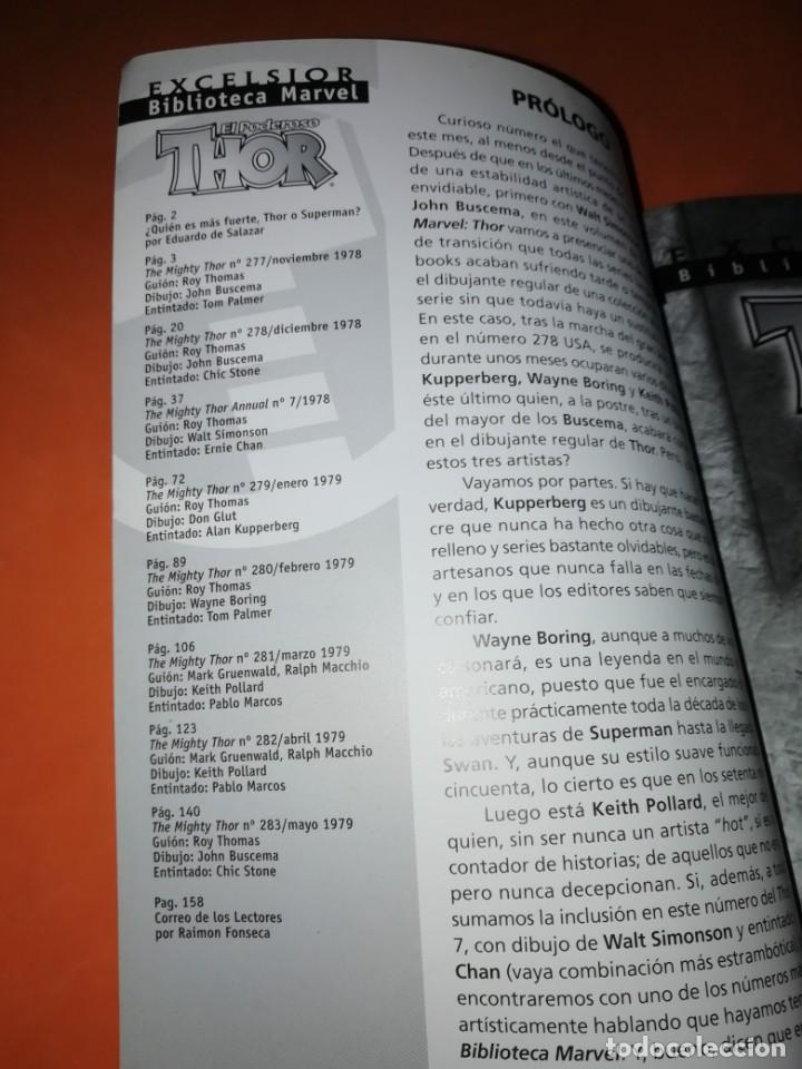 Cómics: BIBLIOTECA MARVEL. EL PODEROSO THOR. NUMERO 27. - Foto 4 - 191868221