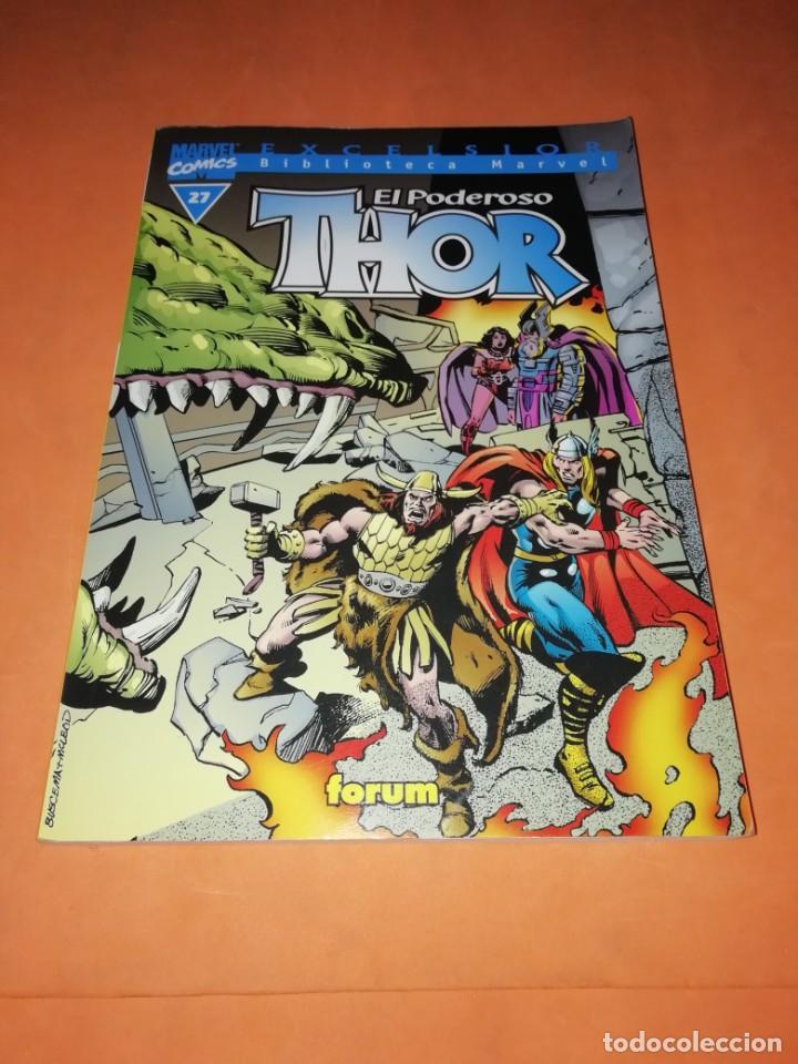 BIBLIOTECA MARVEL. EL PODEROSO THOR. NUMERO 27. (Tebeos y Comics - Forum - Thor)