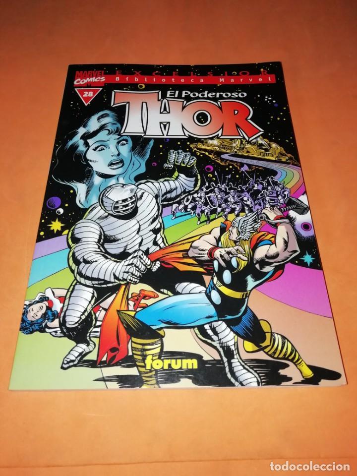BIBLIOTECA MARVEL. EL PODEROSO THOR. NUMERO 28. (Tebeos y Comics - Forum - Thor)