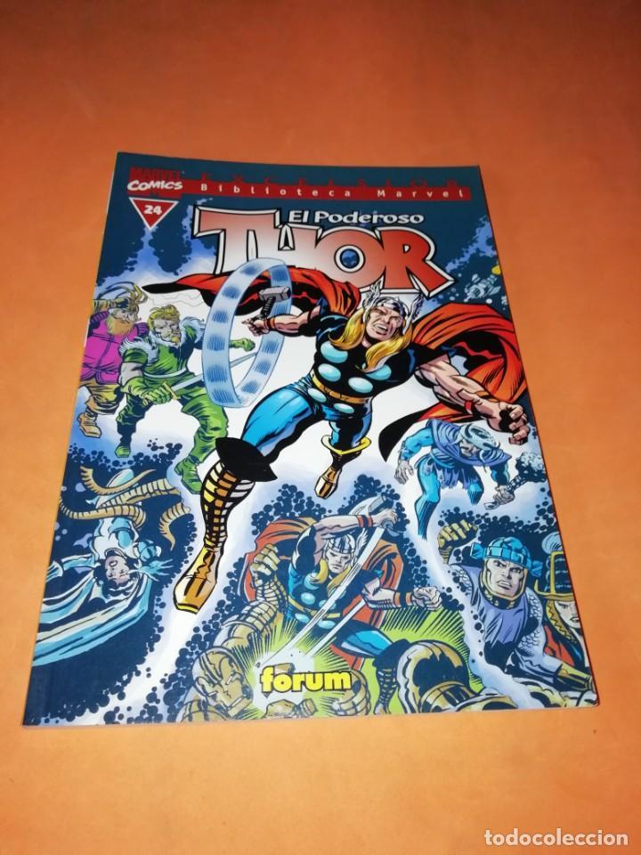 BIBLIOTECA MARVEL. EL PODEROSO THOR. NUMERO 24. (Tebeos y Comics - Forum - Thor)
