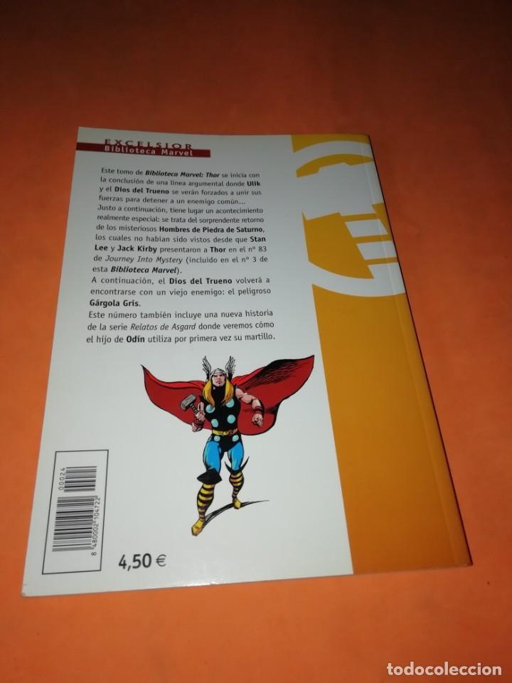 Cómics: BIBLIOTECA MARVEL. EL PODEROSO THOR. NUMERO 24. - Foto 3 - 191870325