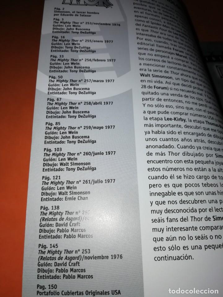 Cómics: BIBLIOTECA MARVEL. EL PODEROSO THOR. NUMERO 24. - Foto 5 - 191870325