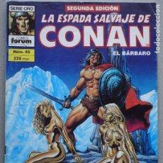 Fumetti: ESPADA SALVAJE DE CONAN 2ª EDICIÓN Nº 45. Lote 191962131