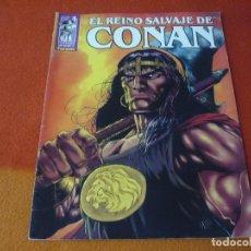 Cómics: EL REINO SALVAJE DE CONAN Nº 1 ( THOMAS BUSCEMA ) ¡BUEN ESTADO! FORUM MARVEL. Lote 191991458