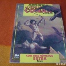 Cómics: LA ESPADA SALVAJE DE CONAN ALBUM ESPECIAL TRES NUMEROS EXTRA 83, 84 Y 85 ¡BUEN ESTADO! FORUM MARVEL. Lote 191992390