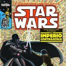 Fumetti: STAR WARS- FORUM- Nº 3 -EL IMPERIO CONTRAATACA-AL WILLIAMSON-CARLOS GARZÓN-1986-BUENO-DIFÍCIL-2985. Lote 191995011