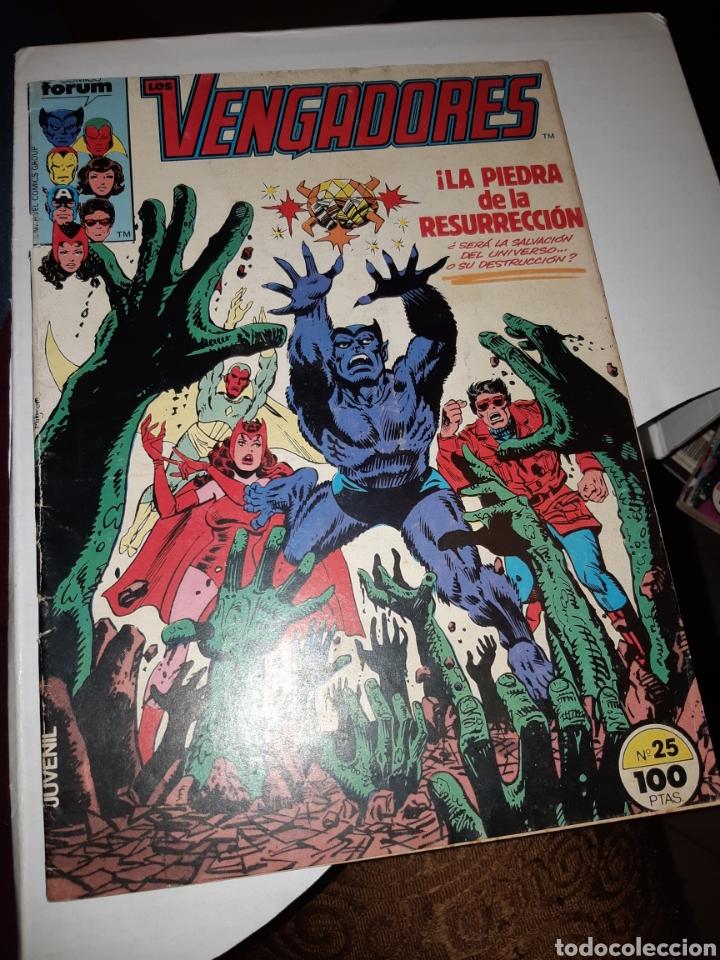 TEBEOS-COMICS CANDY - VENGADORES 25 PRIMERA EDICIÓN - FORUM - AA97 (Tebeos y Comics - Forum - Vengadores)