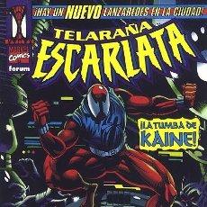 Cómics: TELARAÑA ESCARLATA - FORUM. ESPECIAL SPIDERMAN.. Lote 192113122