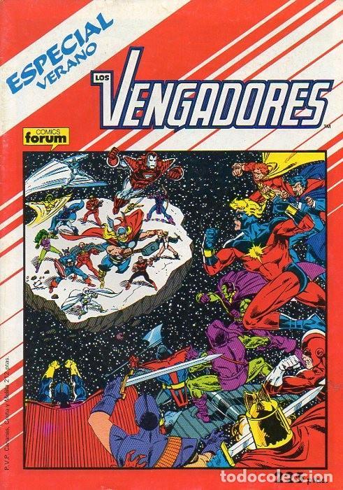 LOS VENGADORES ESPECIAL VERANO 1988 - FORUM (Tebeos y Comics - Forum - Vengadores)